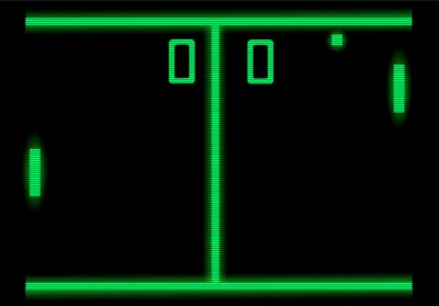 Video Game Animations Pong